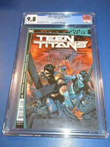 Future State Teen Titans #1 Great A Cover 1st Red X key CGC 9.8 NM/M Gem Wow