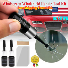 Automotive Glass Nano Repair Fluid Car Window Glass Crack Chip Repair Tool Kit