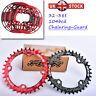 DECKAS 32/34/36/38 104bcd MTB Bike Sprockets Single CNC Chainset Chainring Guard