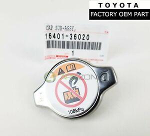 GENUINE TOYOTA 4RUNNER AVALON LEXUS ES300h ES350 RADIATOR CAP OEM 16401-36020