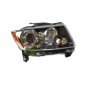 NEW Passenger Right Genuine Headlight Headlamp Assembly For Jeep Compass 14-17