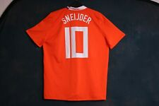 Sneijder 10 Holland Netherlands 2008 2010 home large football shirt jersey top