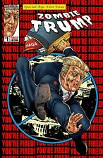 Zombie TRUMP Parody  Ltd. Ed. 500 Comic Book with Marat Mychaels Cover Art