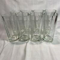 """8 PREOWNED ETCHED 10OZ WILD TURKEY HIGHBALL BOURBON GLASSES 5 7/8"""" X 3"""""""