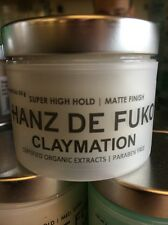 Hanz De Fuko Claymation 2 oz Hair Styling Natural Wax Same Day Free Shipping