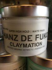 Hanz De Fuko Claymation 2 oz Hair Styling Natural Wax Same Day Free Shipping