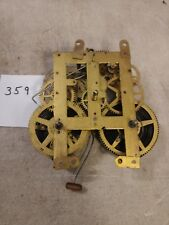 Unmarked Iron Case Mantle Clock Movement