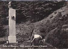 BALZE - Forlì - Stele ricordo al Tevere e Sorgente 1959
