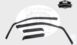 EGR Smoke In-Channel Window Visor 4pc Set 2007-2013 Chevy Silverado 1500  571501