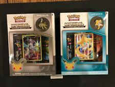 Arceus  Mythical Collection AND Jirachi  Mythical Pin Set Boxes Generations-BOTH