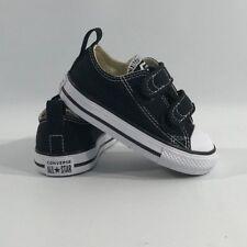 d33449769906 Converse Chuck Black White 2 Strap Baby Infant Toddler Boys Girls Shoe