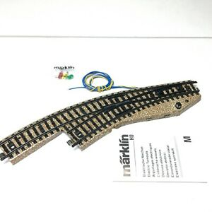MARKLIN H0 Scale 5141 Left Curved Switch M Track 1:87