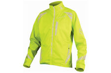 Endura Men's Luminite II Cycling Jacket Large Hi Viz Yellow NEW