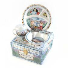 Brand new Mackenzie Childs Toddler's Dinnerware Set - Happy Campers