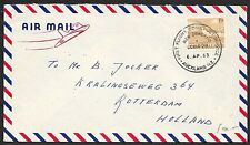 New Zealand covers 1963 1st Flight cover Comet Jet Service  Auckland