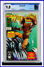 Wolverine #44 CGC Graded 9.8 Marvel August 1991 White Pages Comic Book