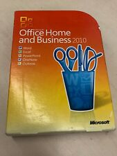 Microsoft Office Home and Business 2010 GENUINE w/key