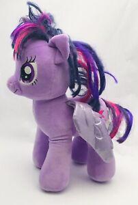 "Build A Bear My Little Pony Twilight Sparkle 17"" Purple BAB"