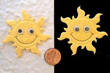 5 Sun suns sunshine Beach vacation fun Handmade Mulberry Paper Scrapbook Cards