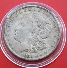 USA-Amerika: 1 Morgan Dollar 1921-S Silver, KM# 110, #F1819