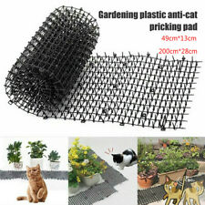 2M Garden Cat Scat Mat Cat Dog Repellent Mat Plastic Spike-Keeping Prickle Strip