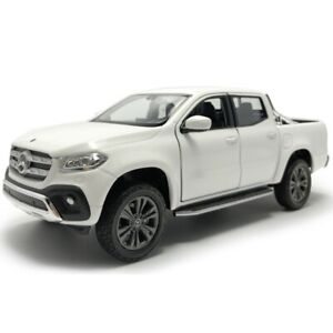 1:27 Scale X-Class Pickup Truck Model Car Diecast Vehicle White Collection Gift