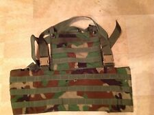 Military, Army, RACK Load Bearing Vest, Woodland Camouflage, New