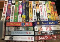 Video Titles - VHS Videos Cassette Tapes - Collection of 100 Tapes
