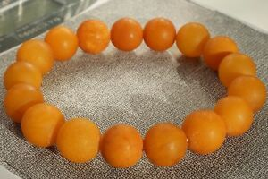 Old Baltic natural amber brown bracelet 16 grams FEDEX FAST SHIPPING 4-6 DAYS