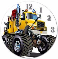 "10.5"" GIANT MONSTER CLOCK - BOY'S CLOCK - Large 10.5"" Wall Clock - 4008"