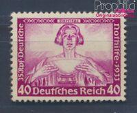 Deutsches Reich 507 postfrisch 1933 Nothilfe:Wagner (8291729