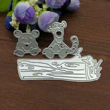 Winnie the pooh and tigger  Metal Die cutting DIY Scrapbooking cardmaking