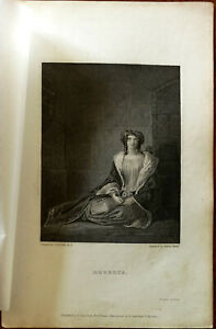 Rebecca by G. R. Leslie R. A., T. Hurst & Co. Vintage Small Print
