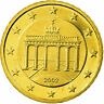 [#705458] GERMANY - FEDERAL REPUBLIC, 50 Euro Cent, 2002, Proof, MS(65-70)