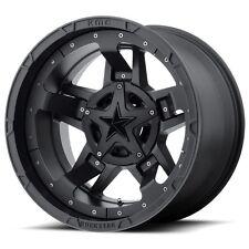 18x9 BLACK rims XD827 ROCKSTAR 3 2011-2017 CHEVY GMC 2500 3500 Truck 8x180 +0MM