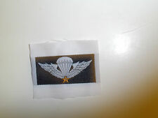 0148 RVN Vietnam South Vietnamese Army Basic Paratrooper Jump Woven Wing IR4A32