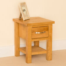 Newlyn - Lamp Table / Oak Side Table / Small 1 Drawer End / Coffee Table