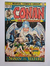 CONAN THE BARBARIAN #22 (F/VF) 1973 ROY THOMAS/BARRY SMITH STORY & ART