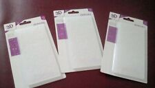 "Gemini 3D Embossing Folders - 2.75"" x 5.75"" - Brand New"