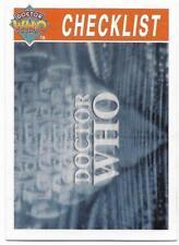 1995 Cornerstone DR WHO Base Card (112) Check List