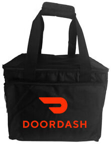 DoorDash rectangular food delivery bag, food carrier