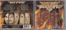 Bonfire - Double X  (CD, Oct-2006, Locomotive Records) ROCK METAL