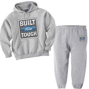 Ford sweatpants Ford hoodie sweatshirt outfit sweatsuit tracksuit Men's black