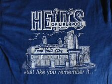 True Vintage Blue Heid's of Liverpool Hot Dog New York Drive In T-Shirt Fits S