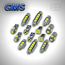 MERCEDES C CLASS W203 ERROR FREE INTERIOR CAR LED LIGHTS BULB KIT - XENON WHITE
