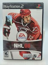 EA Sports NHL 08 PlayStation 2 PS2 Game With/Without Manual TESTED Z21
