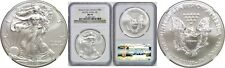 2012(S) American Silver Eagle NGC MS 70 San Francisco Mint