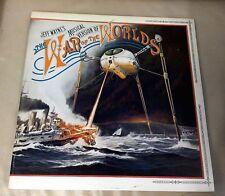 Jeff Waynes Musical Version The War of The Worlds EX 2 x Vinyl Record CBS 96000
