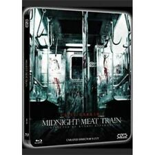 MIDNIGHT MEAT TRAIN ( UNRATED )  blu ray Steelbook ( NEW )