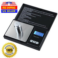 Pocket Scale 1000g/0.1g Digital Jewelry Gold Coin Gram Balance Weight Precise US